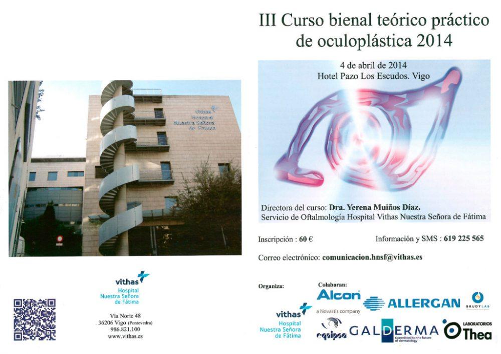 III Curso Internacional del Oculoplástica