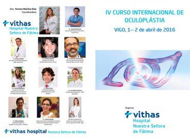 El Hospital Vithas Nuestra Señora de Fátima reúne organiza el IV Curso Internacional de Oculoplástica