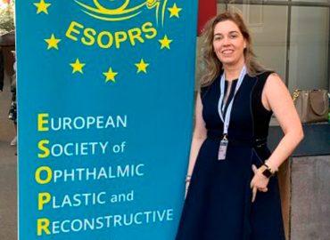 La Dra. Yerena Muiños, 'full member' de la Sociedad Europea de Cirugía Oftalmológica (InfoVithas)